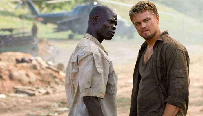 Movie stills from Blood Diamond
