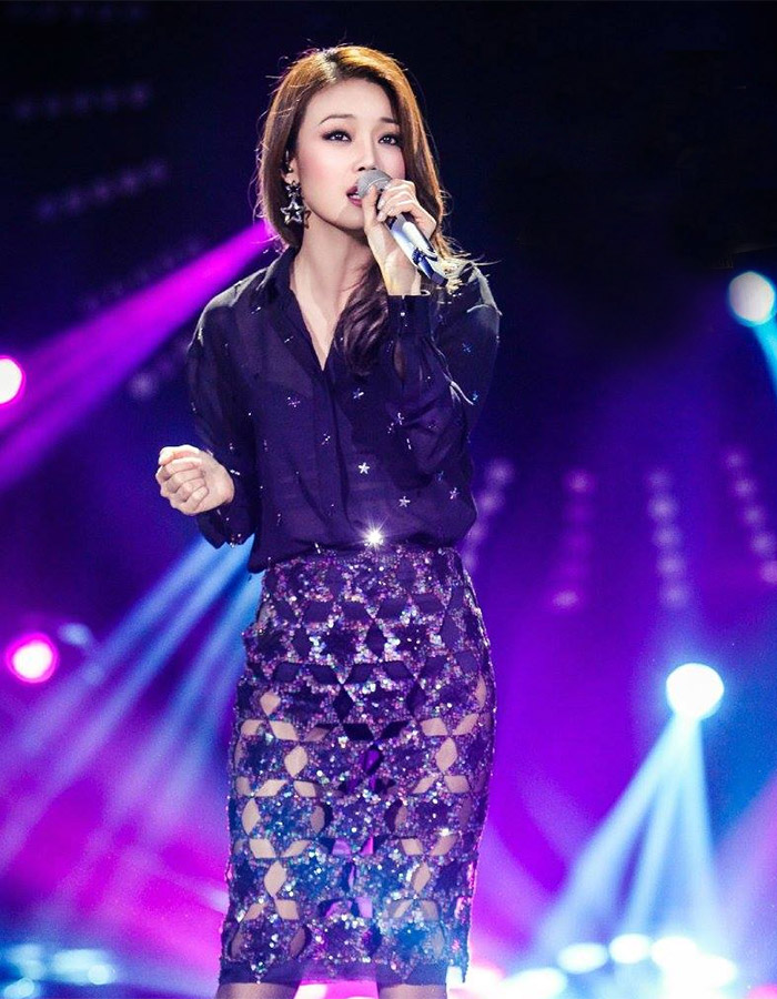 Joey Yung  in I Am A Singer 4 Round 10