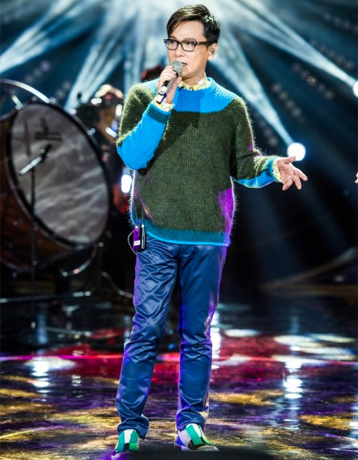 Jeff Chang in I Am A Singer 4 Round 9