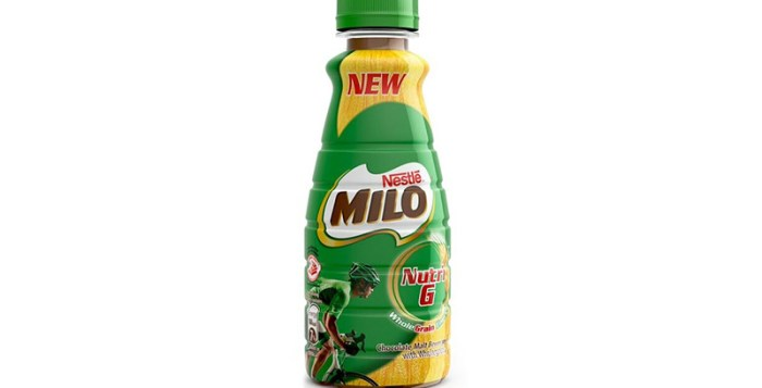 Milo Nutri G bottle