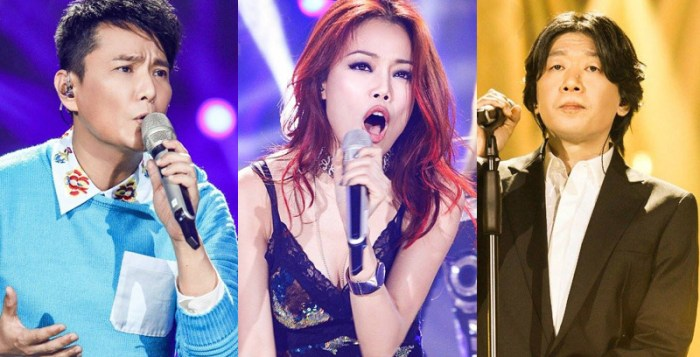 Jeff Chang, Joey Yung and Old Wolf through to the finals of I Am A Singer 4