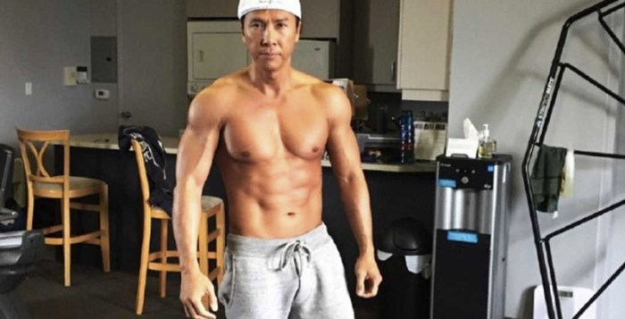 Donnie Yen training for xXx: The Return of Xander Cage