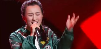 Cheng Si Jia performing Bang Bang on Sing China