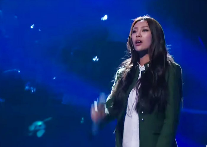 Xu Ge Yang on episode 10 of Sing China 2016