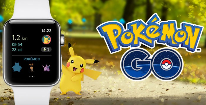 Pokemon GO for Apple Watch is now available on the Apple App Store