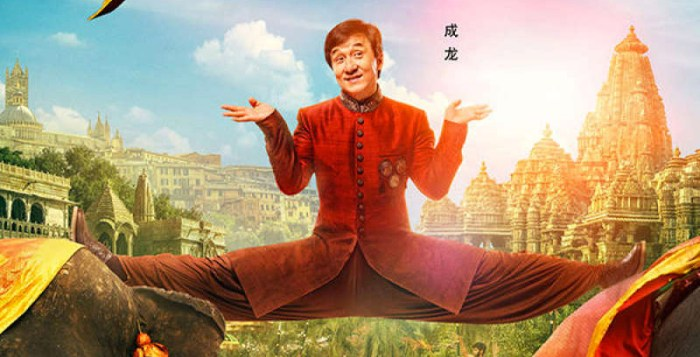 Kung Fu Yoga and Jackie Chan