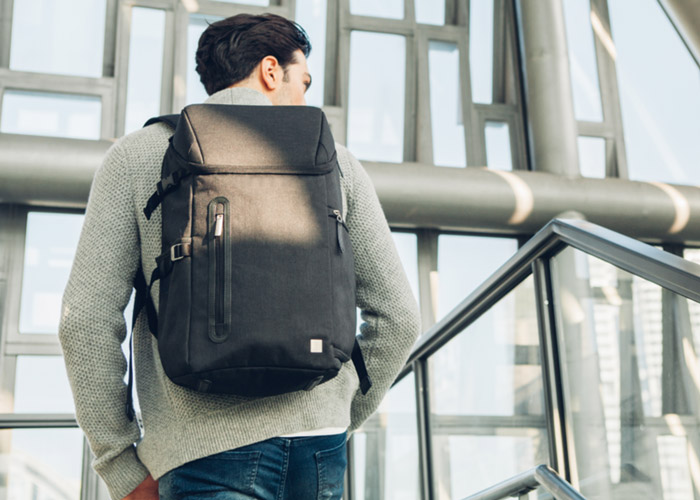Moshi Arcus Backpack in Black