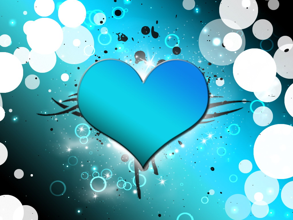 Red And Blue Heart Hd Wallpapers Fondos De Amor Y San Valentin Wallpapers Gratis