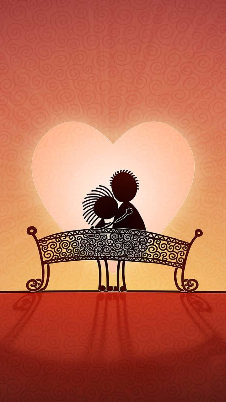 Cute Couple Love Wallpaper Backgrounds Im 225 Genes De Amor Con Frases Bonitas Para Whatsapp