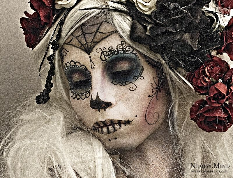 Tattoo Anime Girl Wallpaper Ideas Para Maquillarse Como La Catrina O Calavera Mexicana