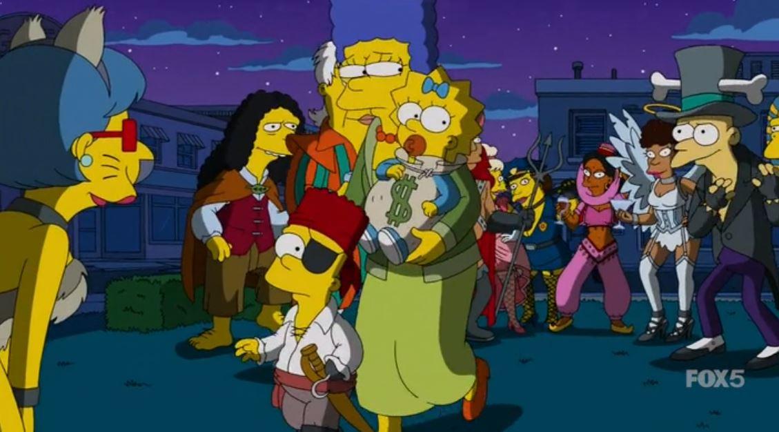 The Gravity Falls Wallpapers Los Simpson Halloween Im 225 Genes The Simpsons Halloween
