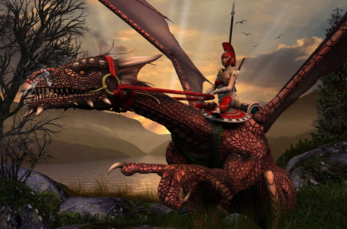 Wallpapers Pc 3d Im 225 Genes De Dragones Fantasticos