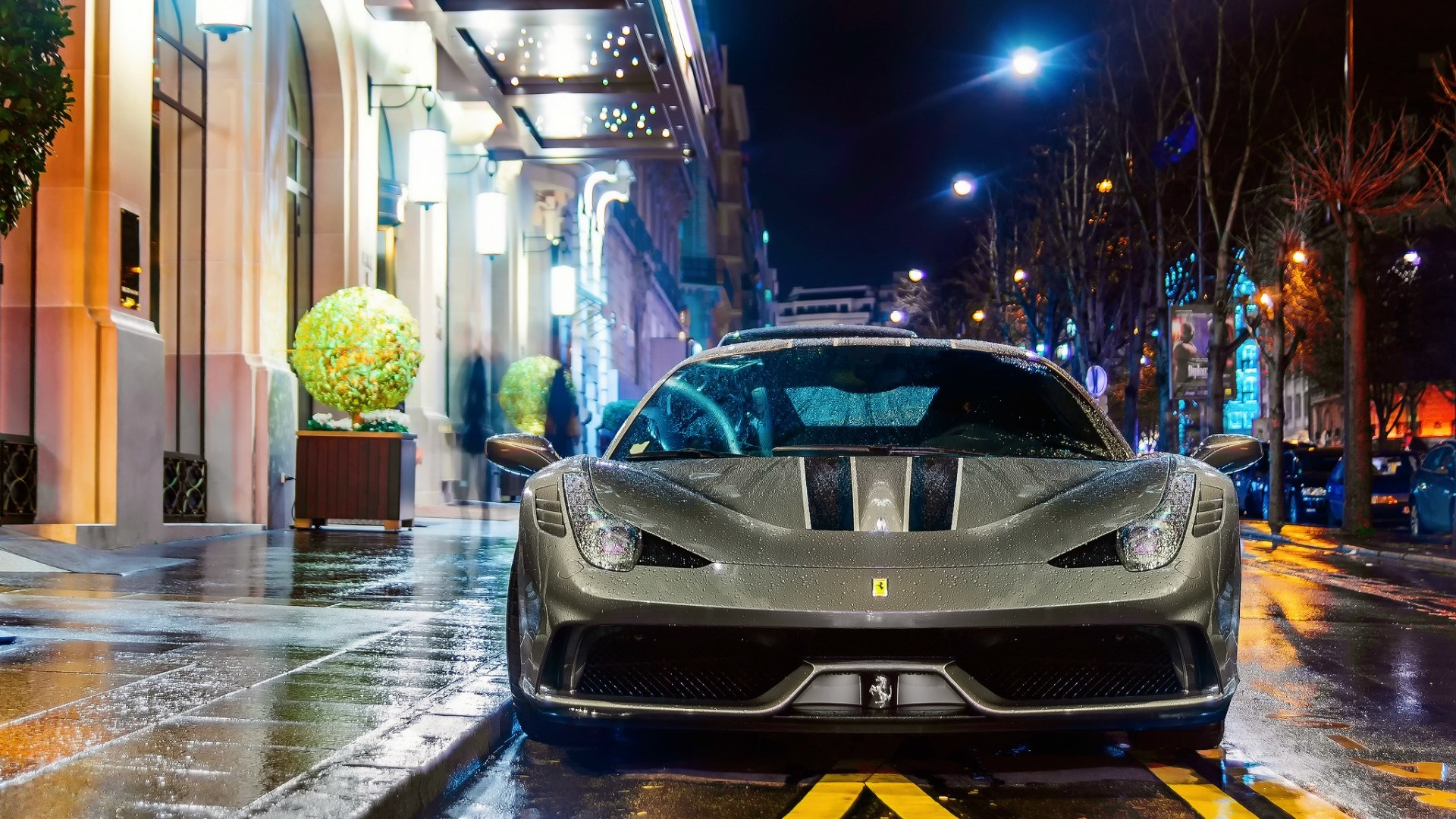 Hd Wallpaper Cars 1080p 56 Fondos De Pantalla De Ferrari Wallpaperrs Hd De Coches