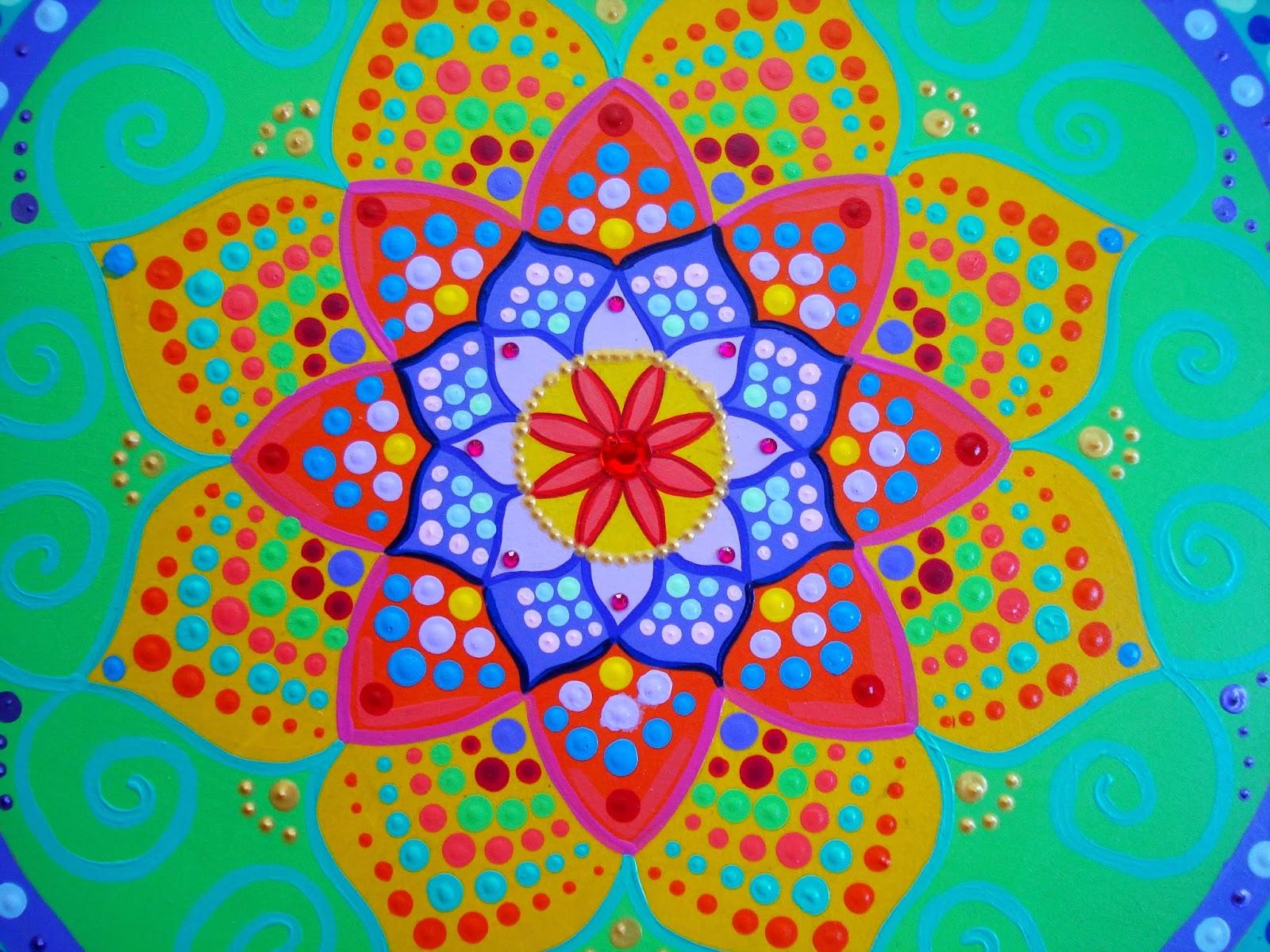 Psychedelic Wallpaper Hd Im 225 Genes Con Mandalas De Colores