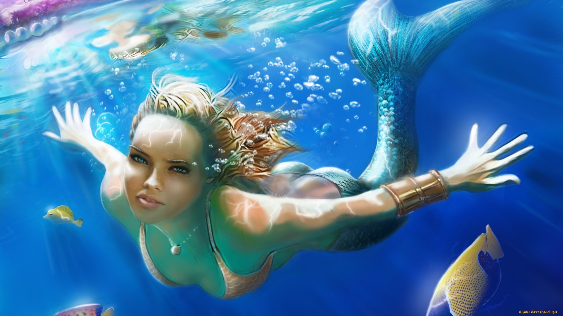 Dc Comics Wallpapers Hd Fondos De Pantalla De Sirenas Hermosas Wallpapers Hd Gratis