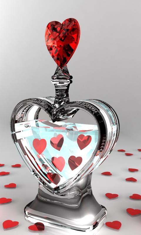 Pink Heart Wallpaper Hd Im 225 Genes Y Fondos De Amor Para Celulares Y Moviles Gratis