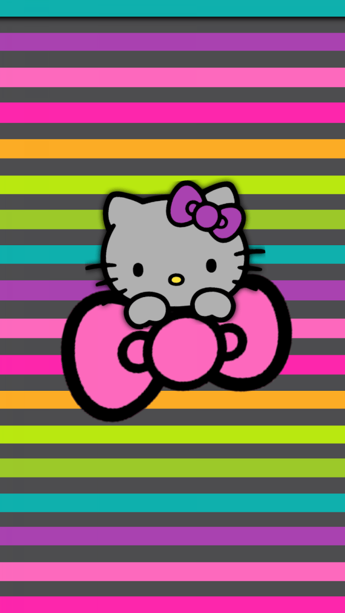 Gif Wallpaper Iphone Fondos De Pantalla De Hello Kitty Para Celular Wallpapers