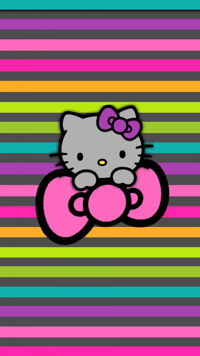 Gif As Wallpaper Iphone X Fondos De Pantalla De Hello Kitty Para Celular Wallpapers