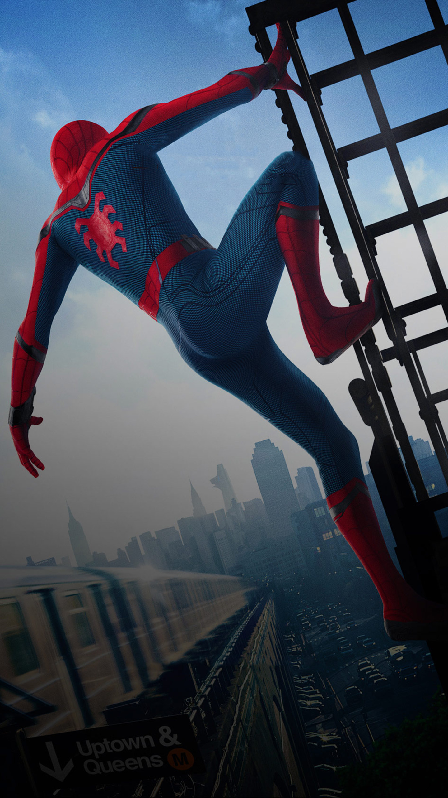 The Amazing Spider Man Wallpaper For Iphone Spiderman Homecoming Fondos De Pantalla Para Android E Iphone