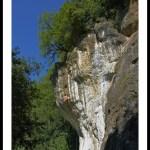 La falaise de Bonrepaux (Ariège – Couserans)
