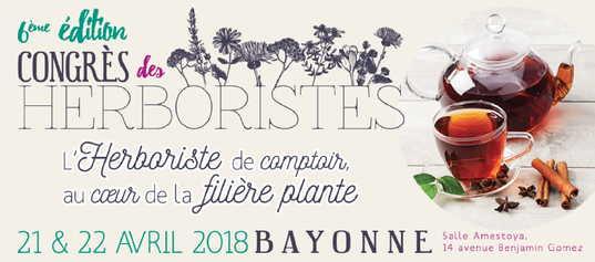 GC - 6e congrès des herboristes - Bayonne