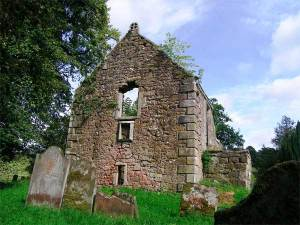 Kirkconnel Church remains