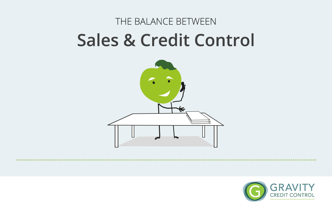 The balance between sales and credit control