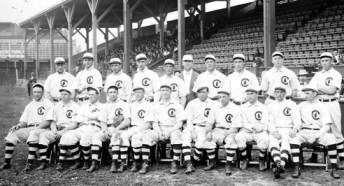 The 1908 Chicago Cubs - World Series Champions