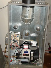 Annual service of an oil furnace - Gray Furnaceman Furnace ...