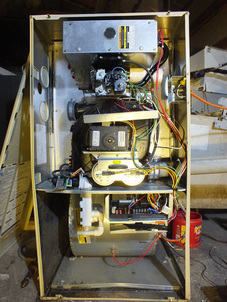 Forced Air Furnace Wiring Diagram Gas Furnace High Efficiency Or 90 Troubleshoot And Repair