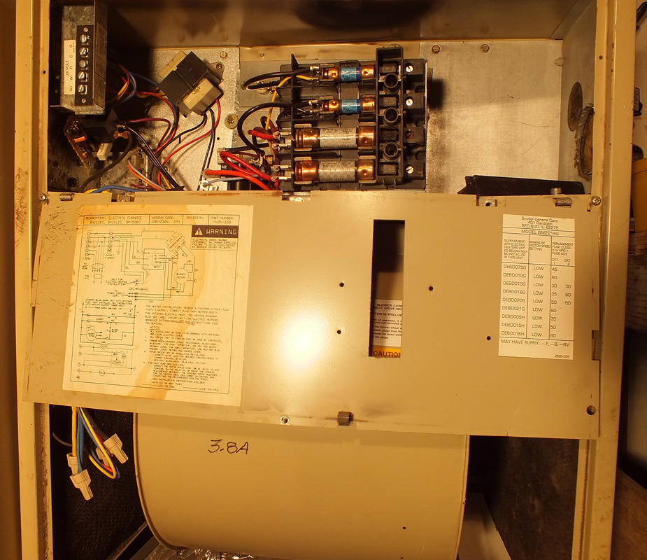 Electric furnace - Gray Furnaceman Furnace Troubleshoot and Repair