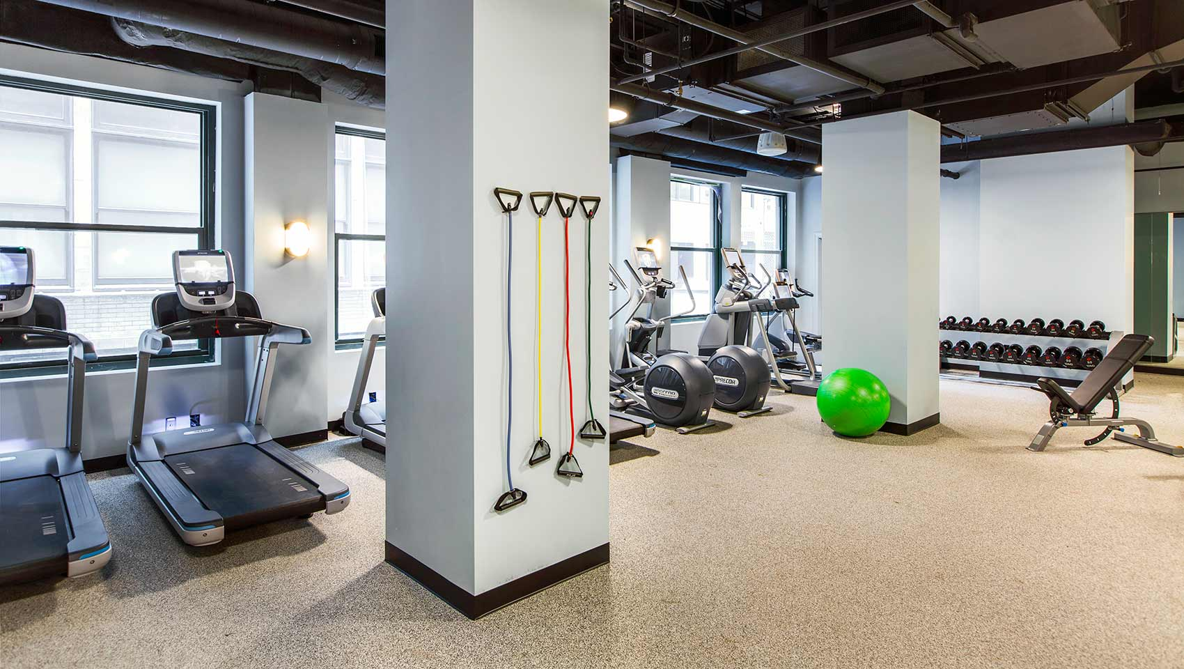 Fitness Center Kimpton Gray Hotel Chicago