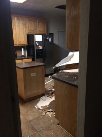 Residential water leak