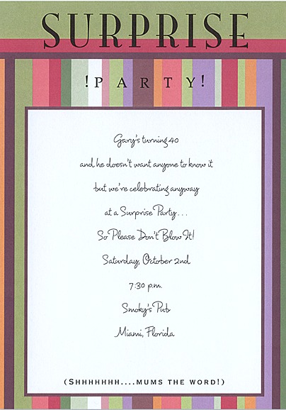 Birthday Invitation Wording Birthday Quotes