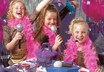 Glamour Girl Birthday Party Dress Up Party