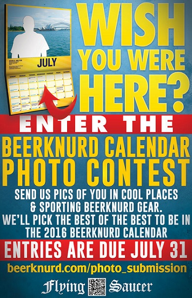Calendar Photography Contest : Enter your photo in the beerknurd calendar