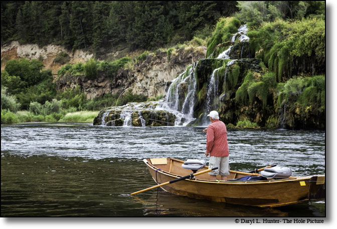 South Fork of Snake River - Swan Valley Idaho fly fishing trout
