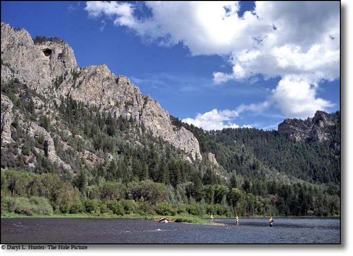 Fly Fishing Swan Valley Idaho - South Fork, Snake River, Palisades