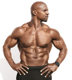 Voguish Terry Crews A Head Turned To Right Looking Seriously Terry Crews Fasting Workout Terry Crews Fasting Video