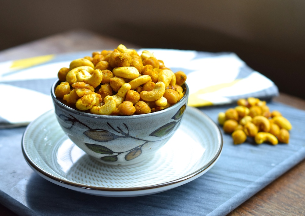 Roasted Curry Chickpeas • Great Food and Lifestyle