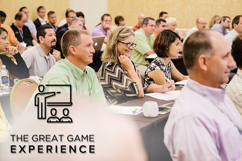 Events - The Great Game Experience - June 7, 2018 The Great Game