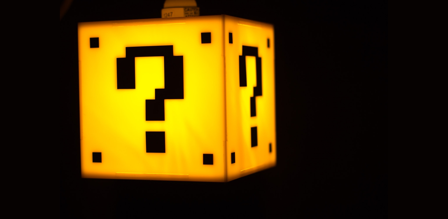 Super Mario Question Mark Hanging Lamp Greatgamergiftscom