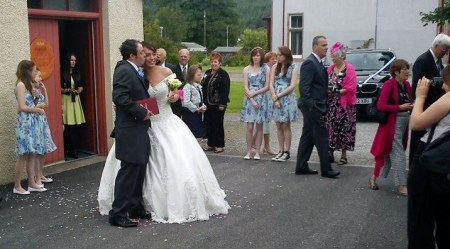 Getting married in Fort Augustus