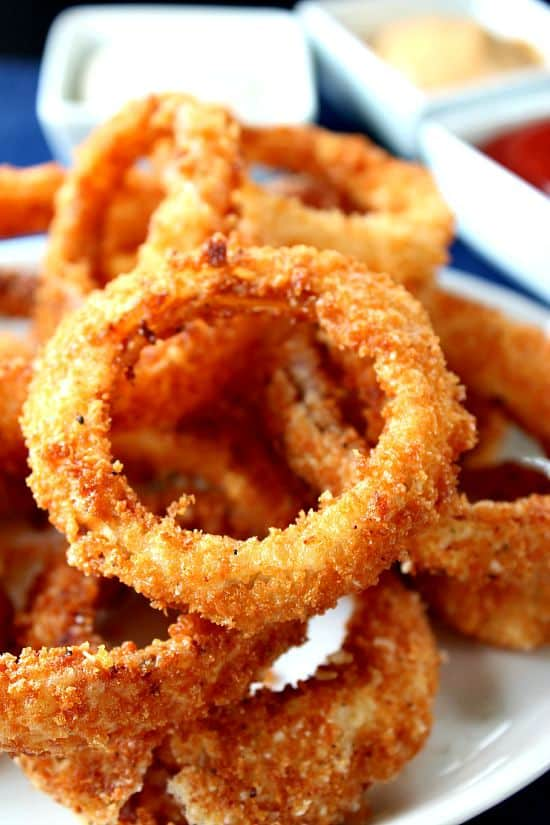 Crispy Onion Rings - Great Grub, Delicious Treats