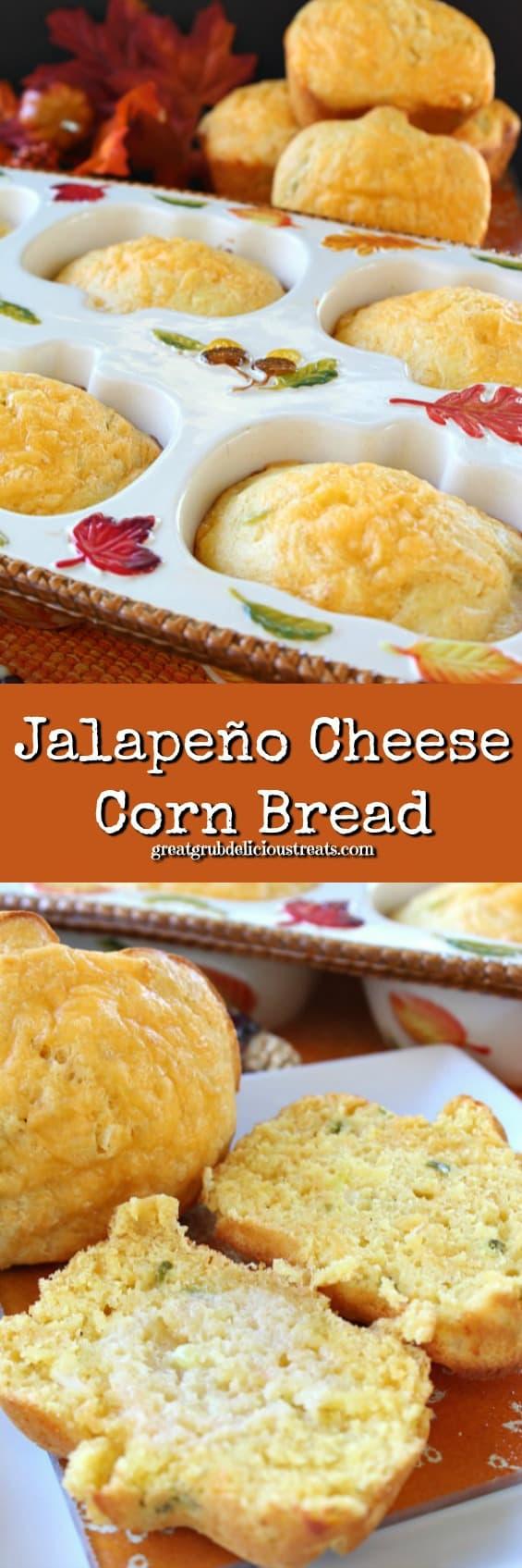 Jalapeño Cheese Corn Bread - Great Grub, Delicious Treats