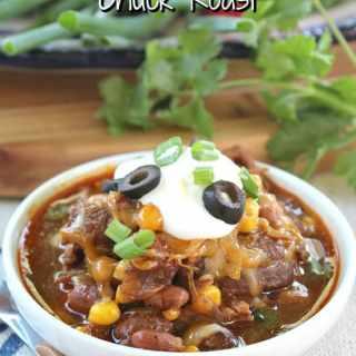 Mexican Style Crock Pot Chuck Roast