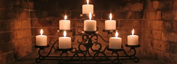 Fireplace Candleholder - add the romantic elegance and glow