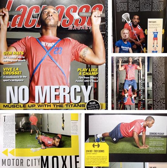 Detroit Mercy Titans Lacrosse Troy Dennis Lacrosse Magazine