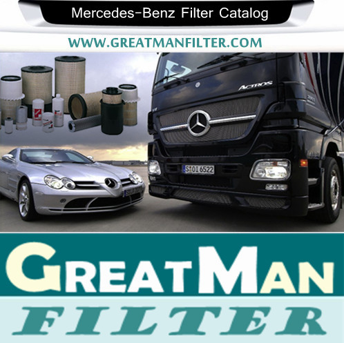 Mercedes-Benz Filter Catalog-GREATMAN FILTER FACTORY-CHINA ACTIVE