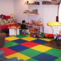 Kids Play Room Ideas in Basement Floors
